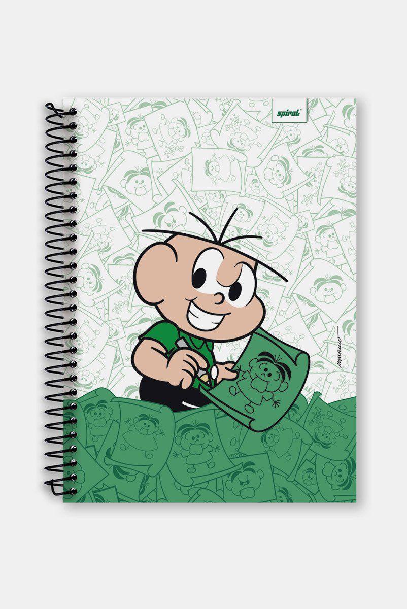 Caderno Turma da Mônica Plano do Cebolinha 1 Matéria