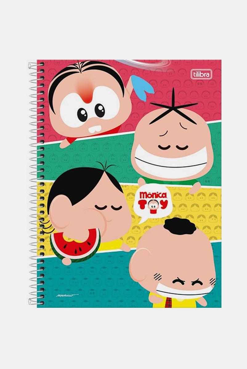 Caderno Turma da Mônica Toy Faces 1 Matéria