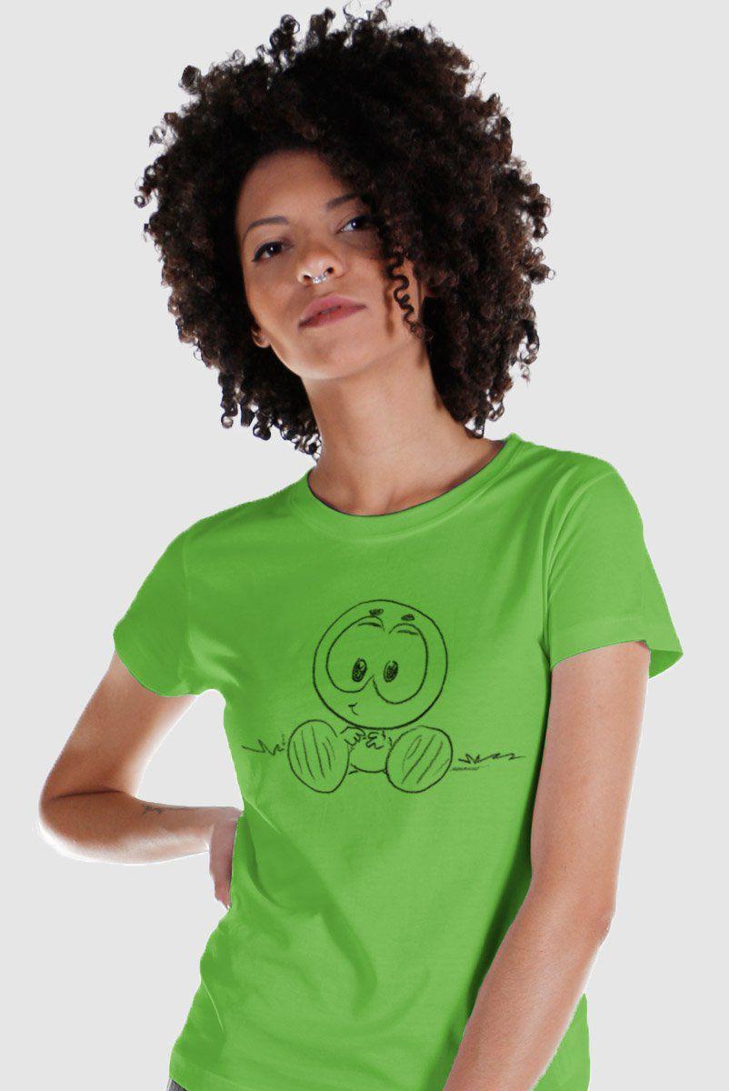 Camiseta Feminina Mauricio de Sousa 80 Anos Horácio