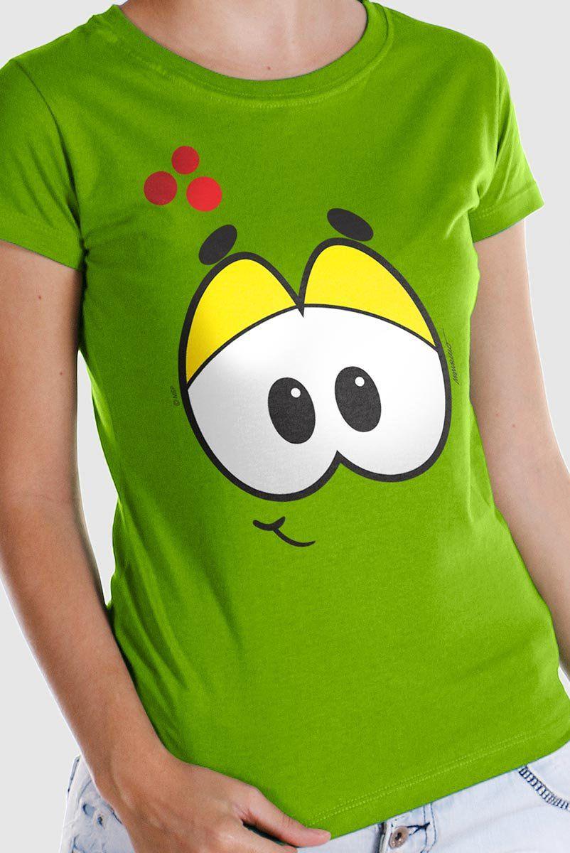 Camiseta Feminina Turma da Mônica Olhões Horácio