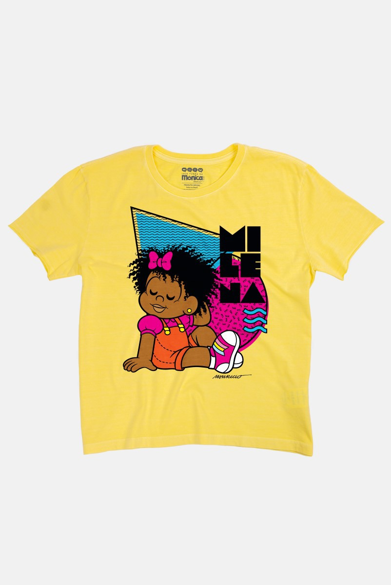 Camiseta Feminina Turma da Mônica Milena Verão