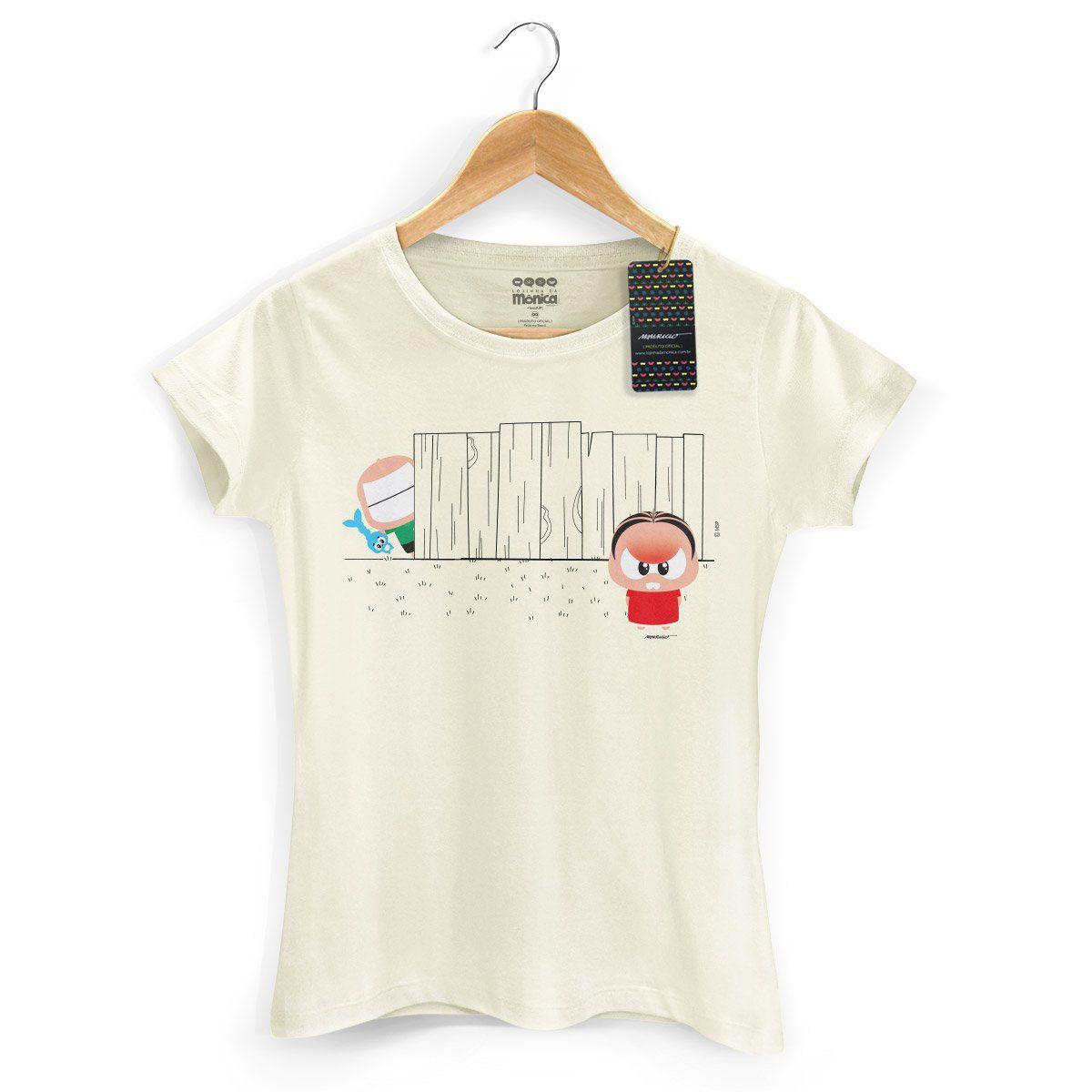 Camiseta Feminina Turma da Mônica Toy Angry Mônica