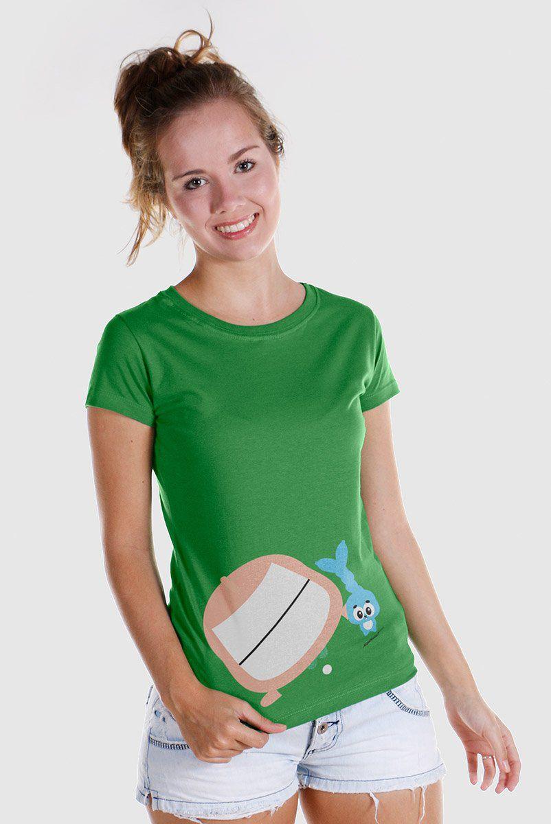 Camiseta Feminina Turma da Mônica Toy Big Cebolinha