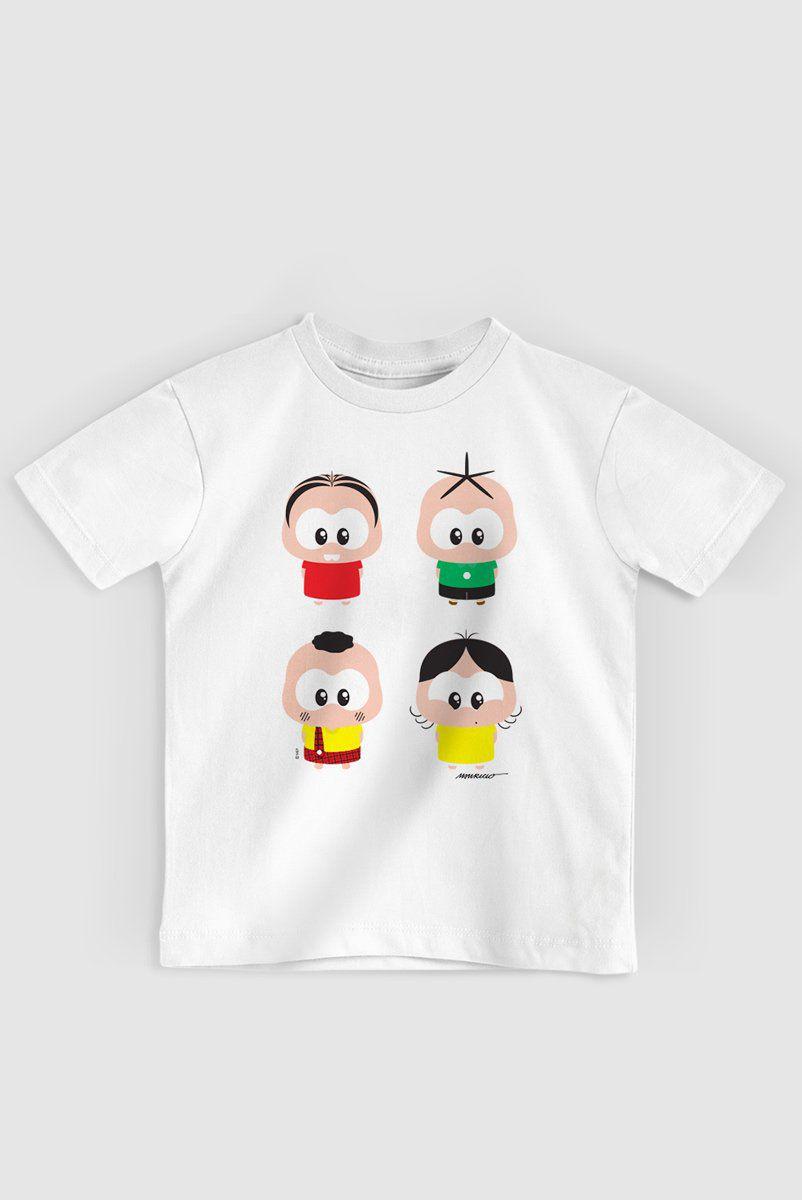 Camiseta Infantil Turma da Mônica A Turma Toy