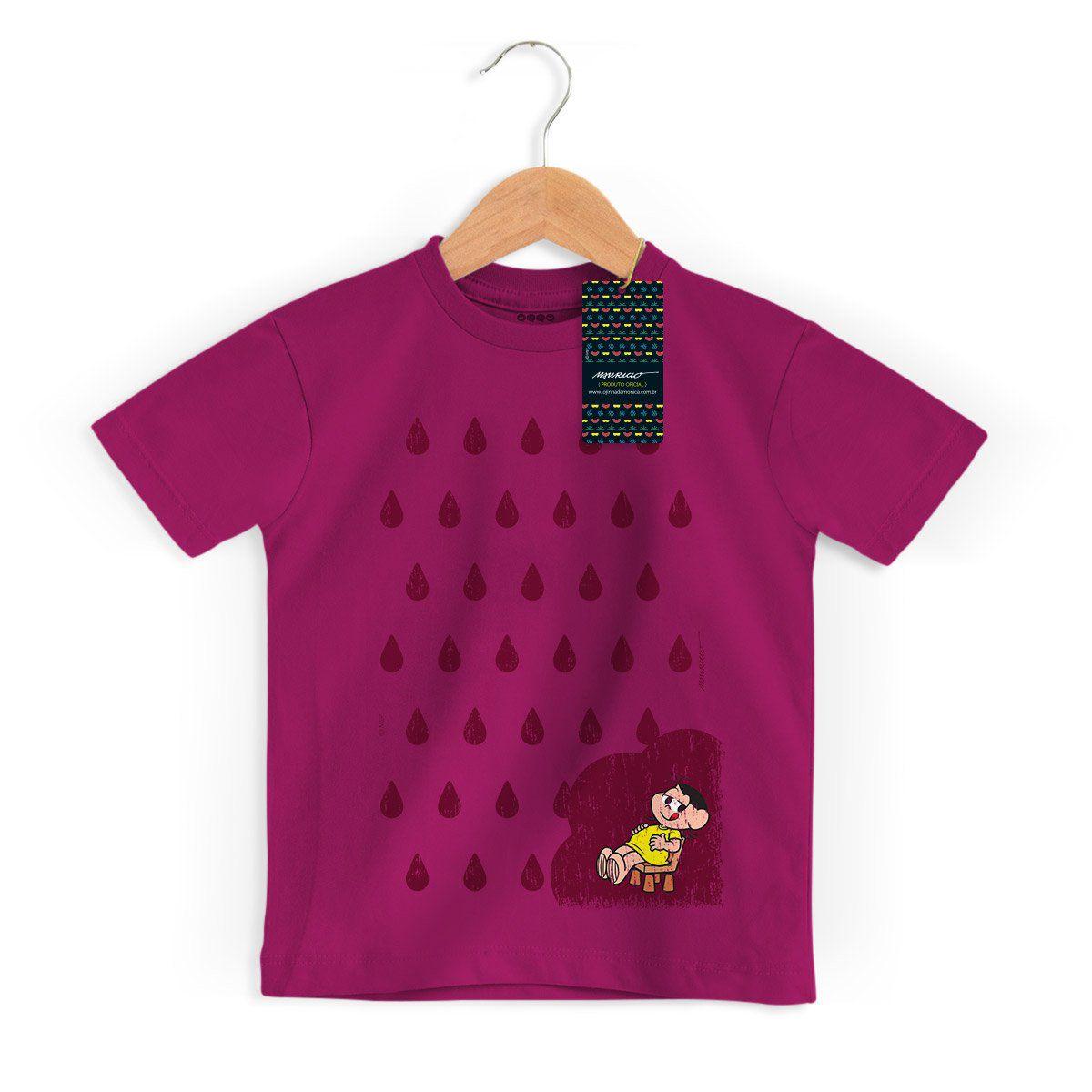 Camiseta Infantil Turma da Mônica Cool Magali Sementes