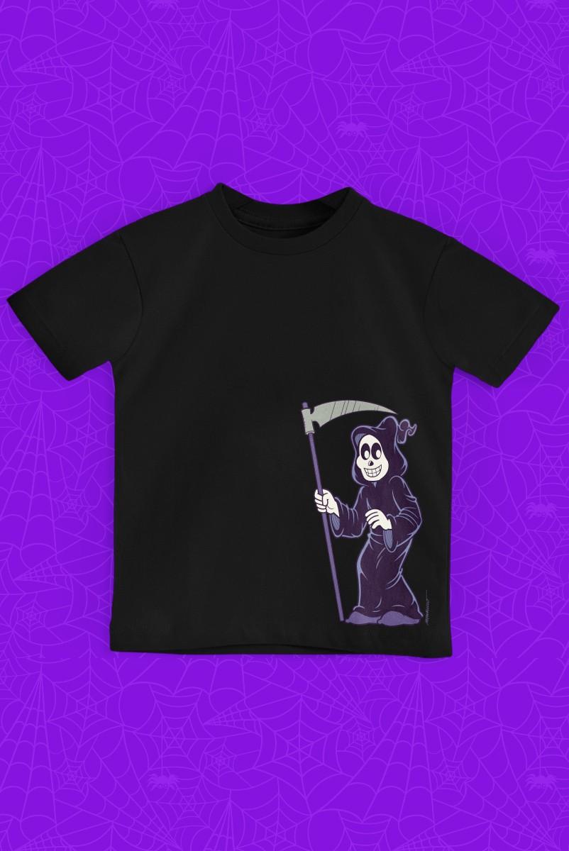 Camiseta Infantil Turma da Mônica Dona Morte