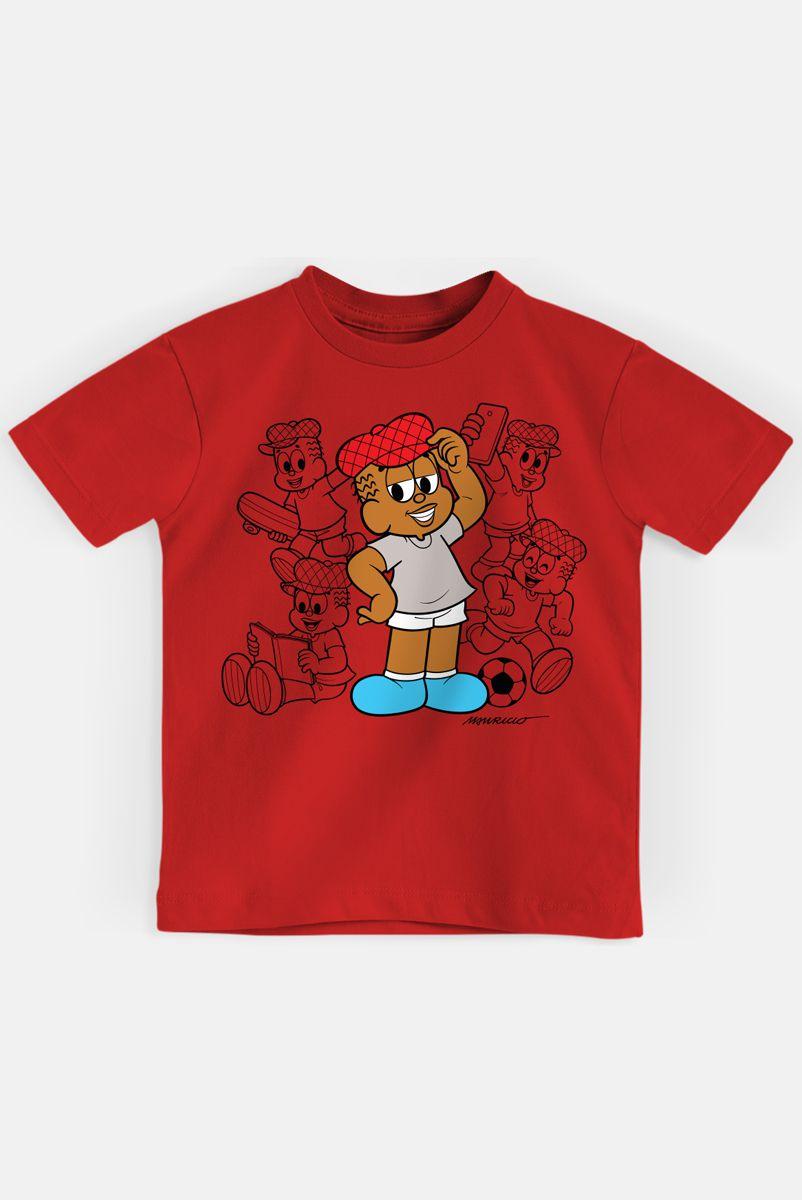 Camiseta Infantil Turma da Mônica Jeremias Pose