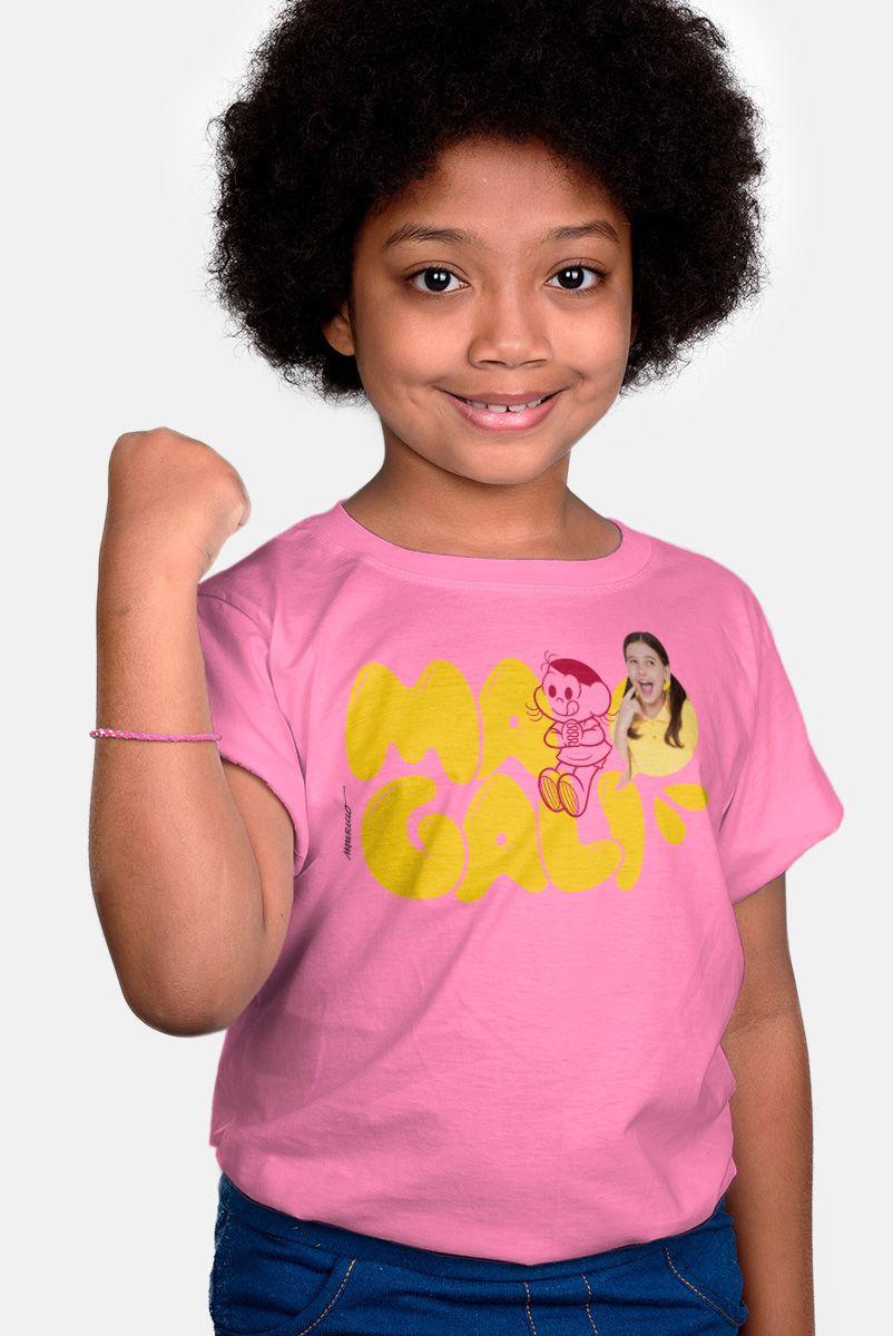 Camiseta Infantil Turma da Mônica Laços Magali