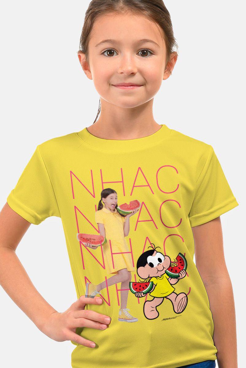 Camiseta Infantil Turma da Mônica Laços Magali NHAC