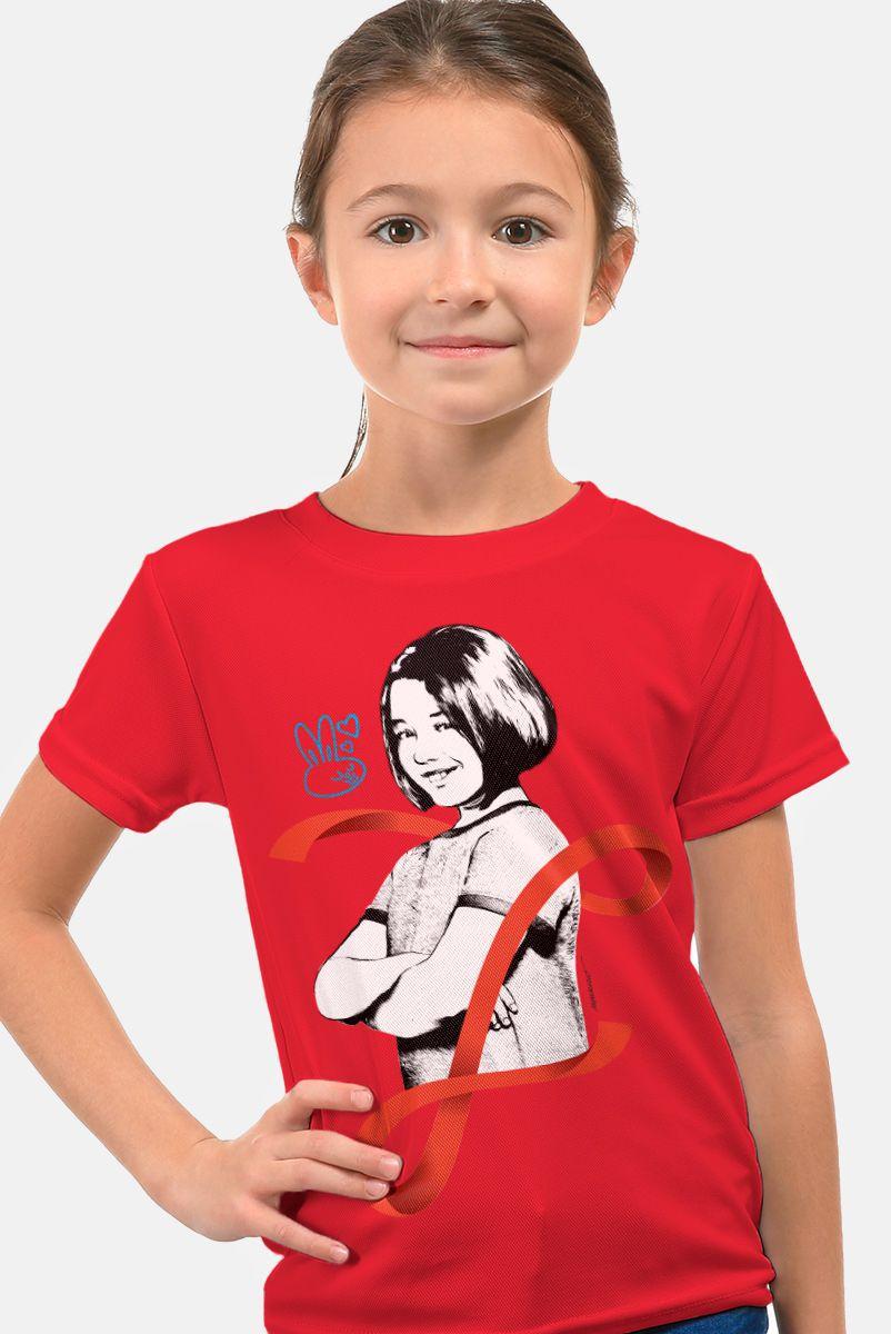 Camiseta Infantil Turma da Mônica Laços Mônica Laço
