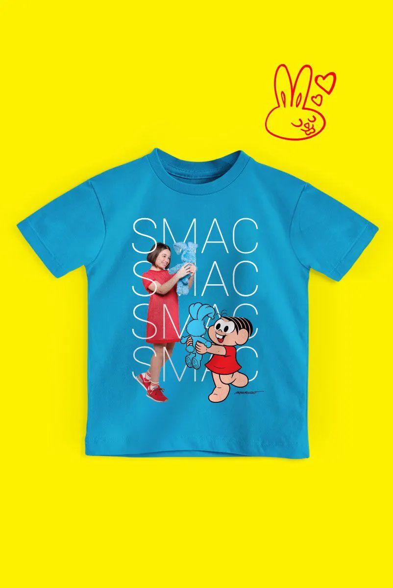 Camiseta Infantil Turma da Mônica Laços Mônica SMAC