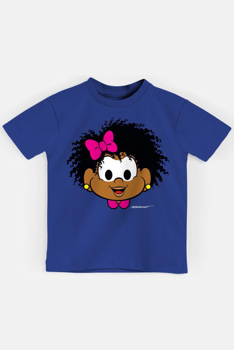 Camiseta Infantil Turma da Mônica Milena Rostinho