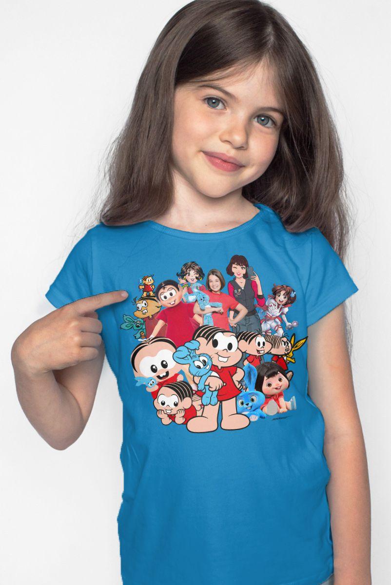 Camiseta Infantil Turma da Mônica Mônicaverso