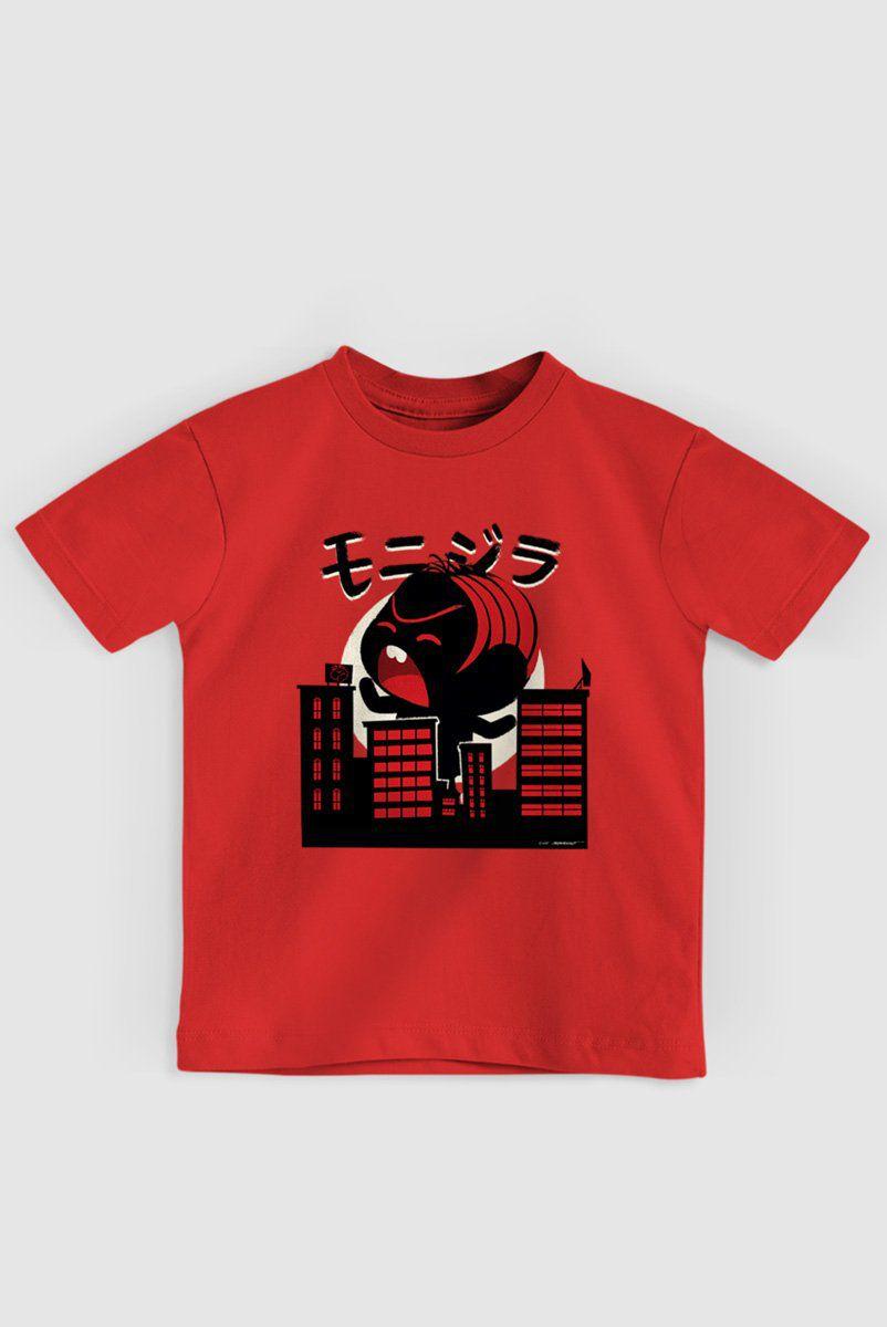 Camiseta Infantil Turma da Mônica Monizilla
