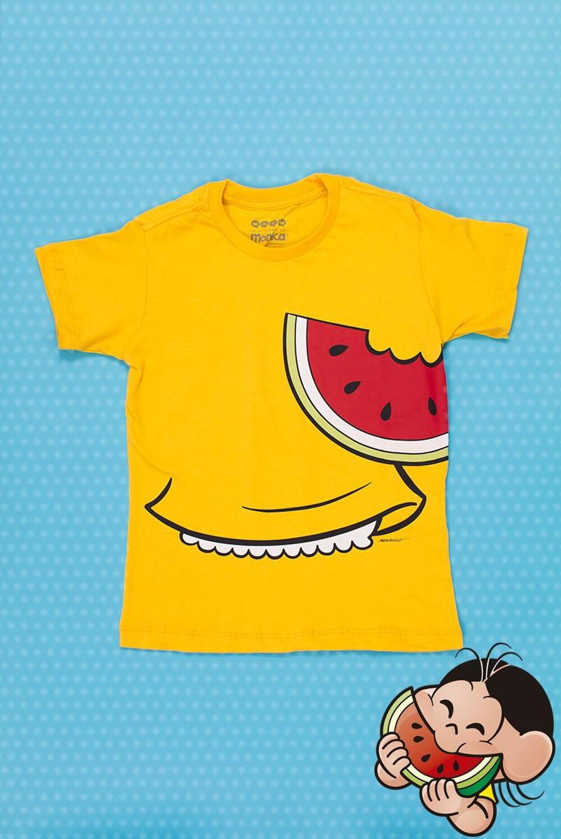 Camiseta Infantil Turma da Mônica Roupinha Magali