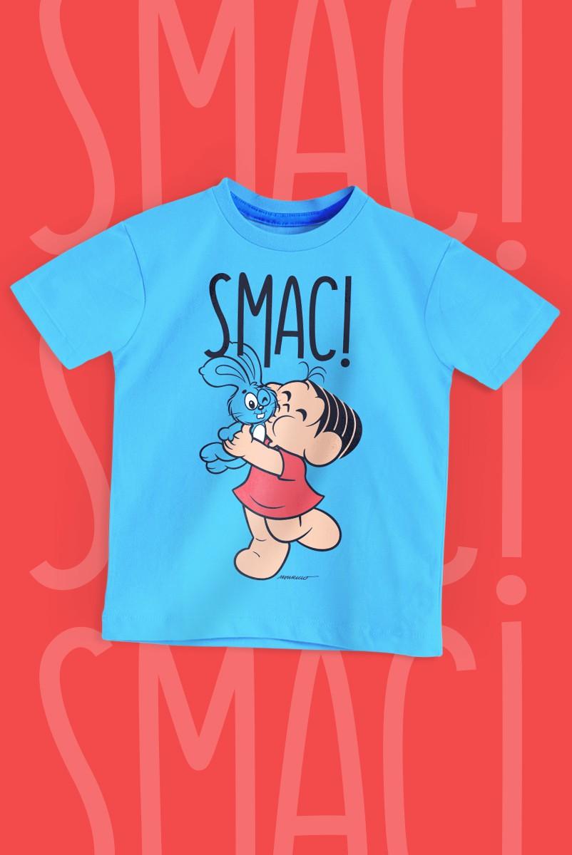 Camiseta Infantil Turma da Mônica Smac