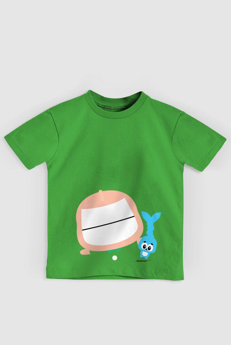 Camiseta Infantil Turma da Mônica Toy Big Cebolinha