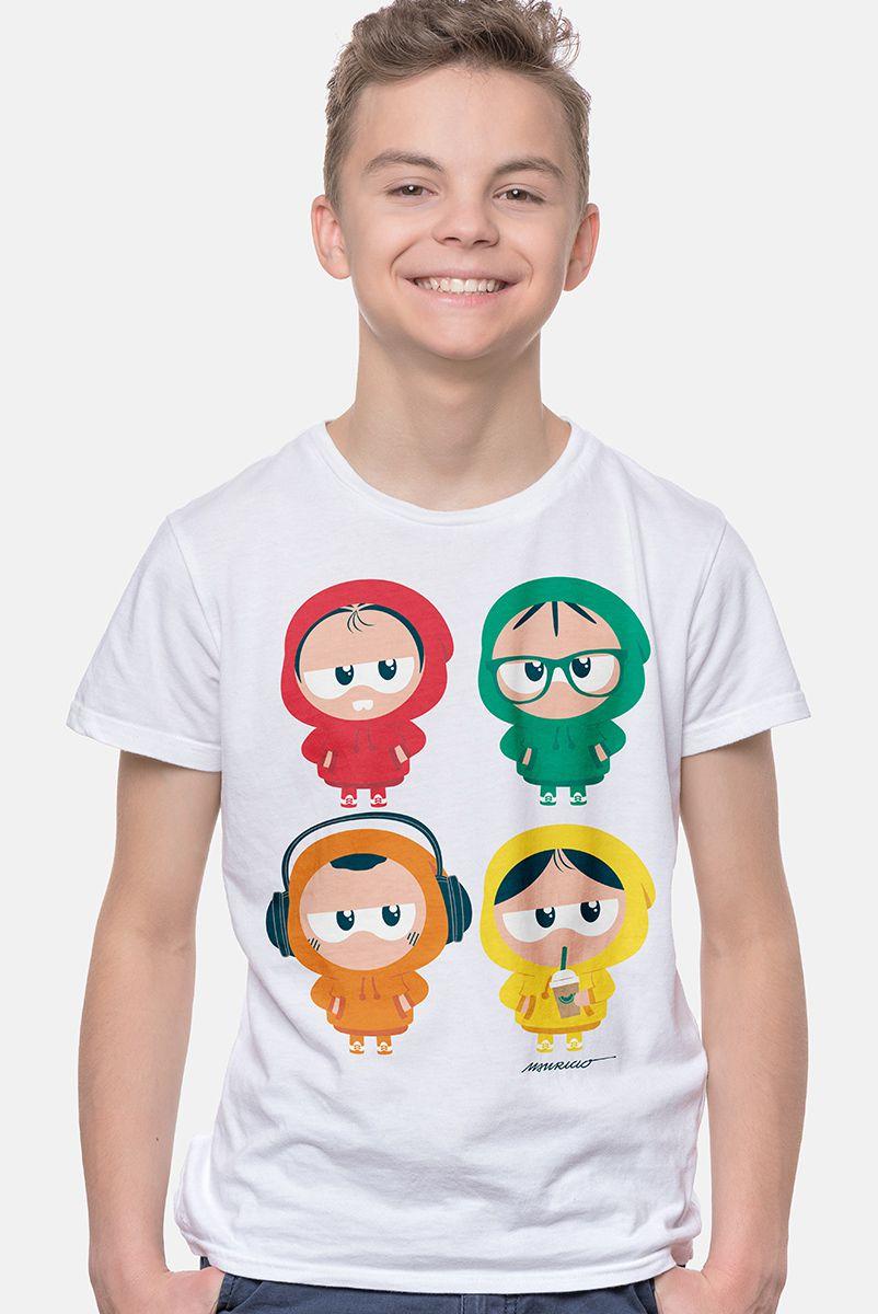 Camiseta Infantil Turma da Mônica Toy de Moletom