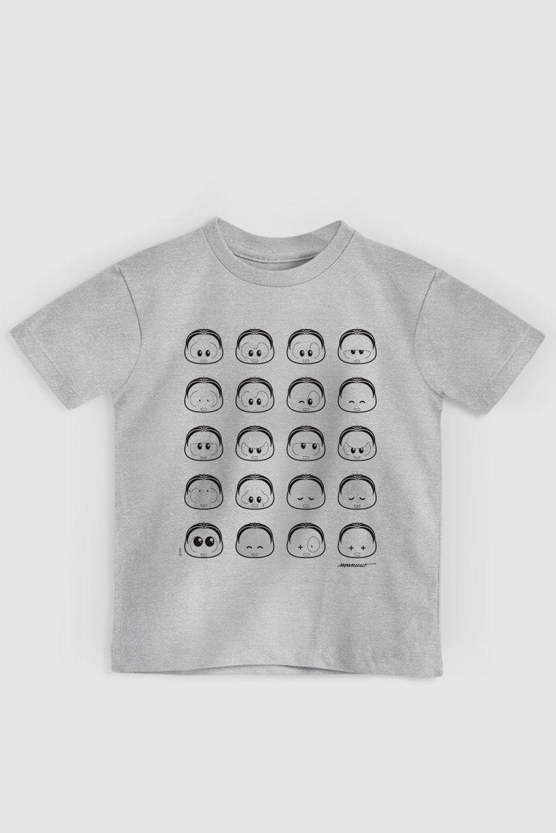 Camiseta Infantil Turma da Mônica Toy Look Mônica