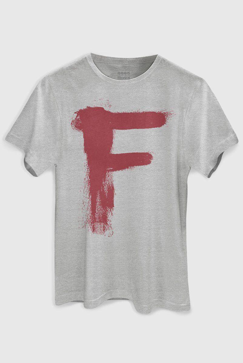 Camiseta Masculina Capitão Feio F