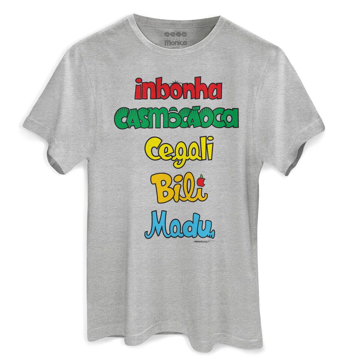 Camiseta Masculina Turma da Inbonha