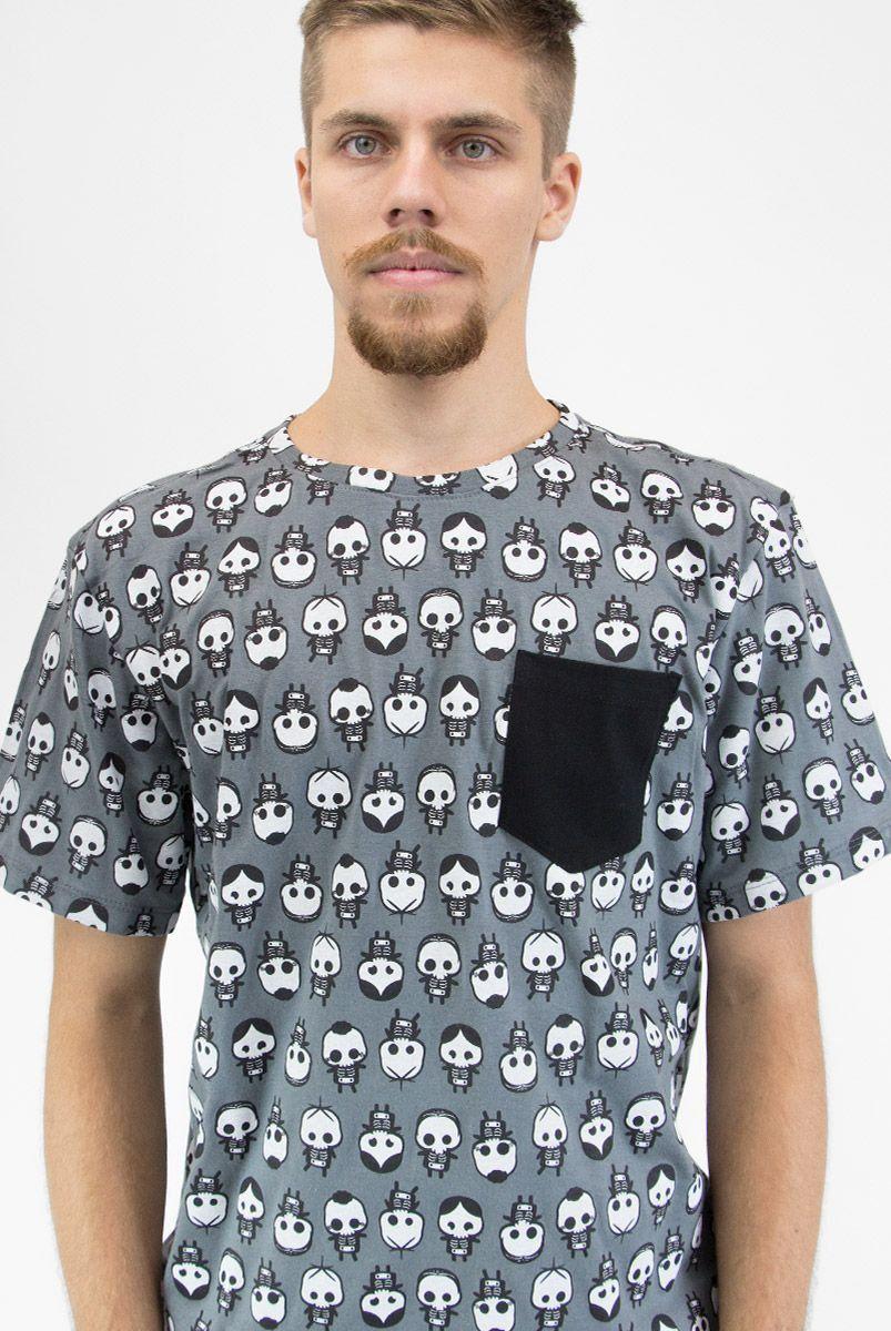 Camiseta Masculina Turma da Mônica Raio X