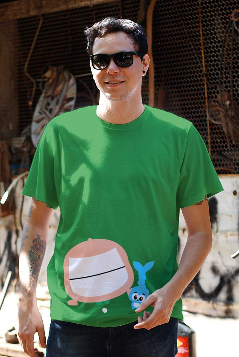 Camiseta Masculina Turma da Mônica Toy Big Cebolinha
