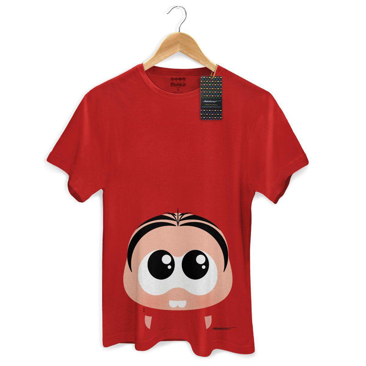 NÃO USAR Camiseta Masculina Turma da Mônica Toy Big Mônica