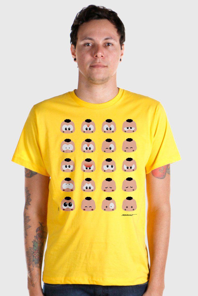 Camiseta Masculina Turma da Mônica Toy Look Cascão