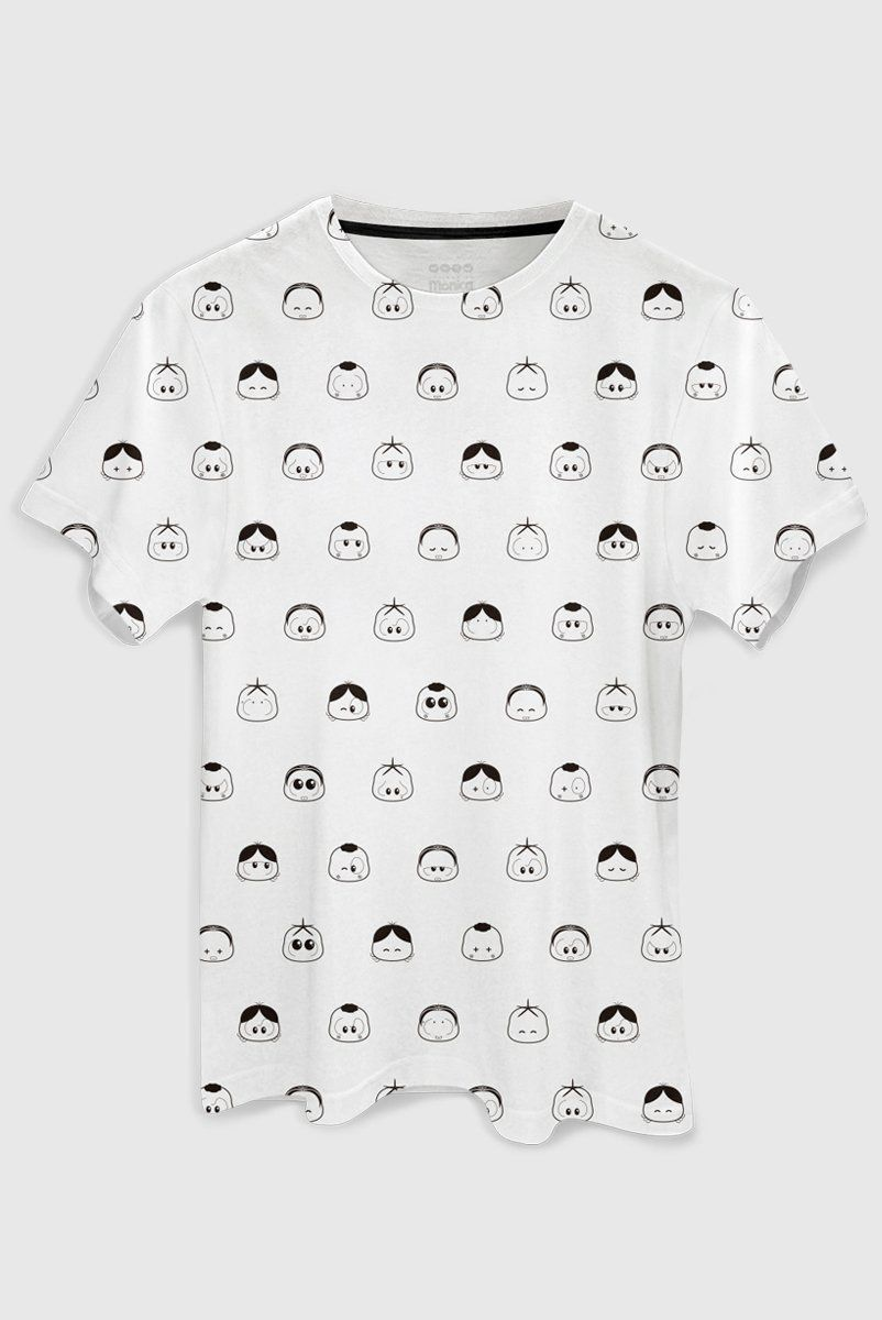 Camiseta Masculina Turma da Mônica Toy Pattern