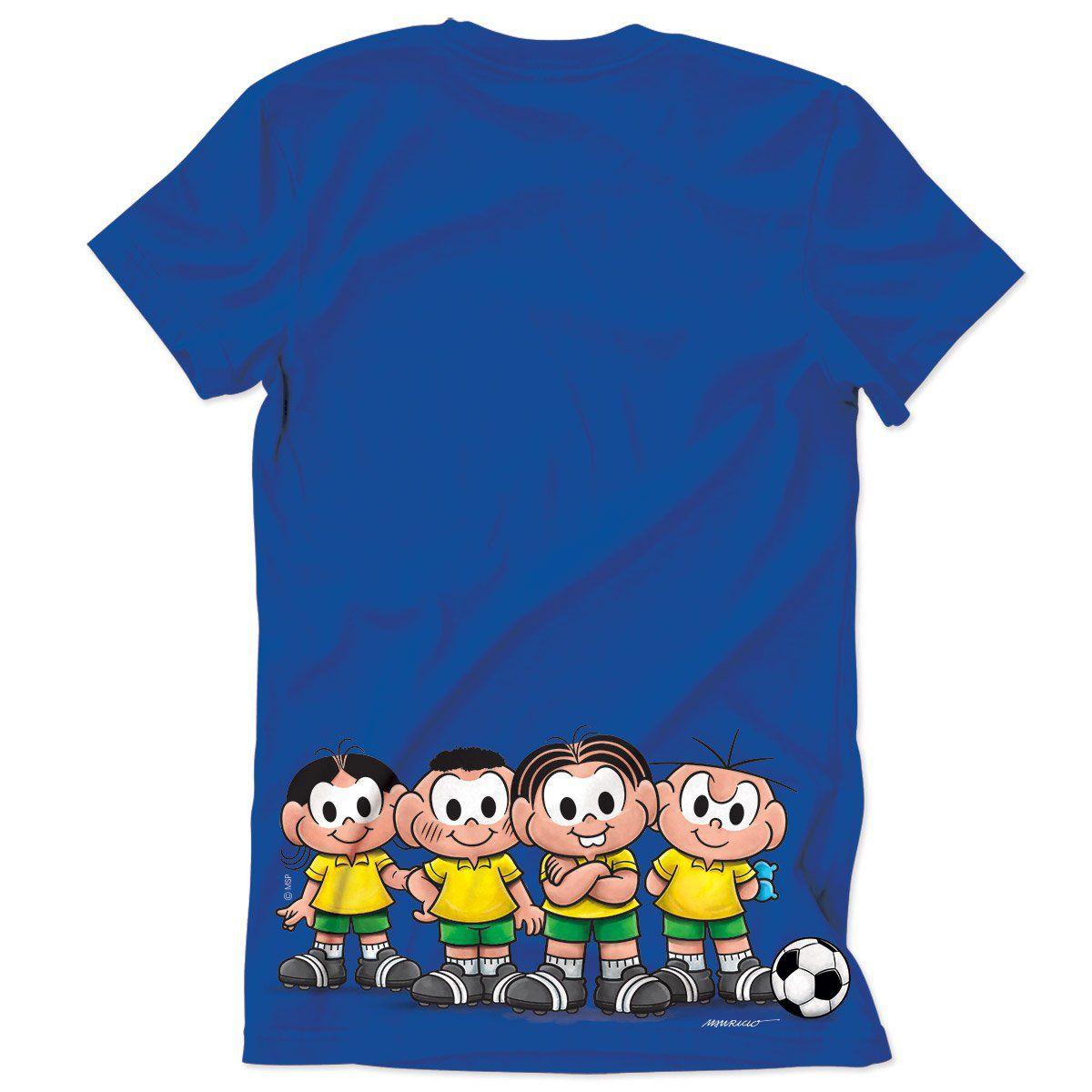 Camiseta Turma da Mônica Futebol Clube
