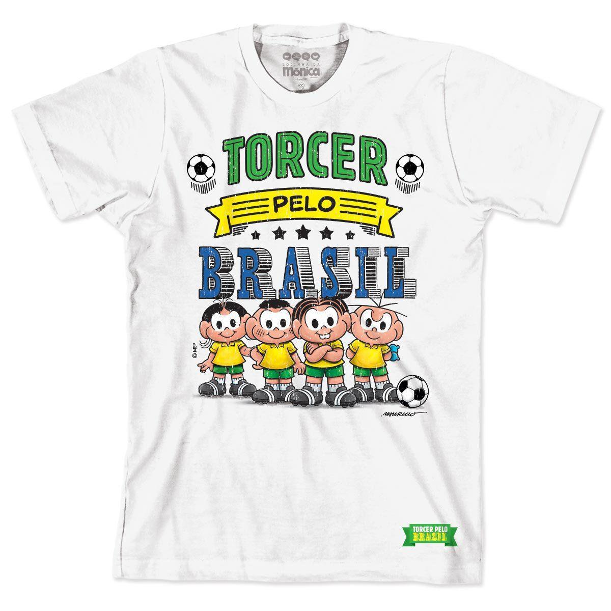 Camiseta Turma da Mônica Seleção da Mônica 2