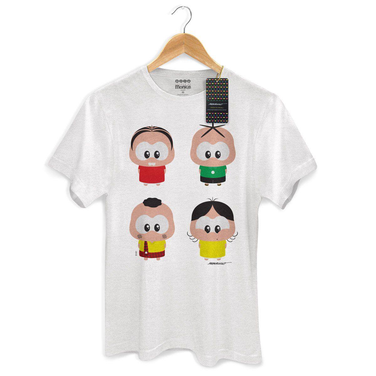 NÃO USAR Camiseta Masculina Turma da Mônica Toy A Turma Toy