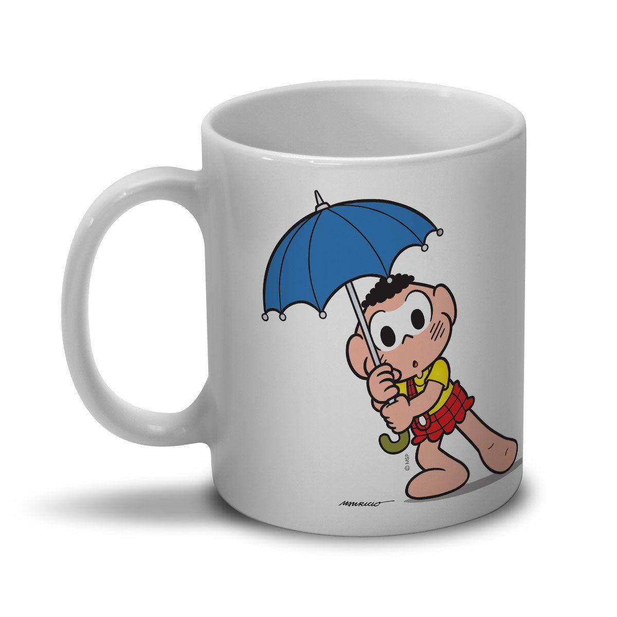 Caneca Turma da Mônica Cool - Keep Calm And Carry An Umbrella