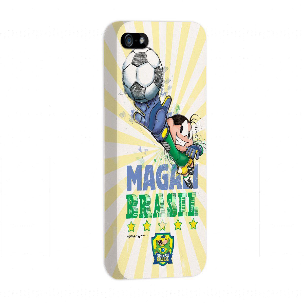 Capa de iPhone 5/5S Turma da Mônica Jogadora Magali 2