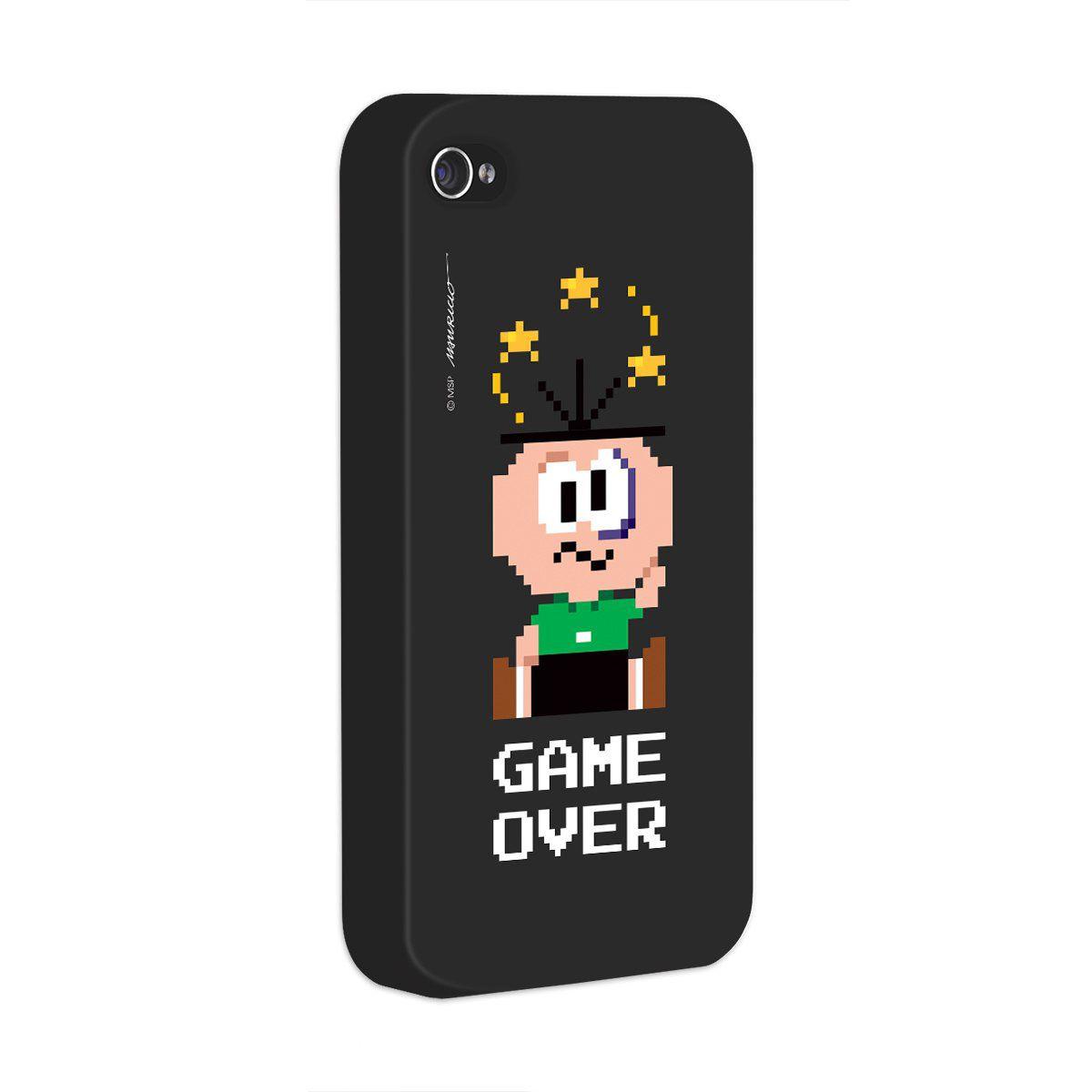 Capa para iPhone 4/4S Turma da Mônica Cebolinha Game Over