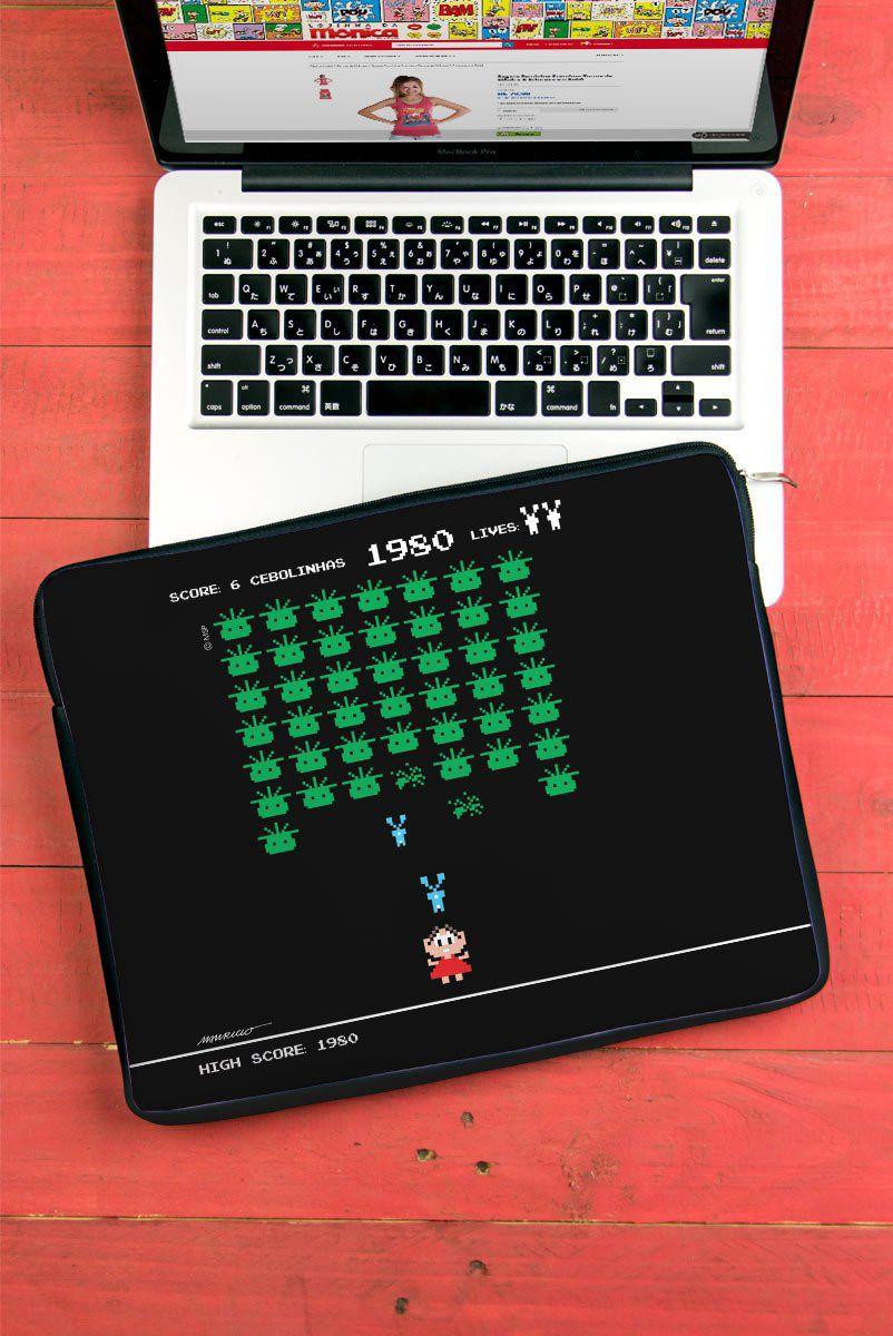 Capa Para Notebook Turma da Mônica 50 Anos Modelo 2 Anos 80