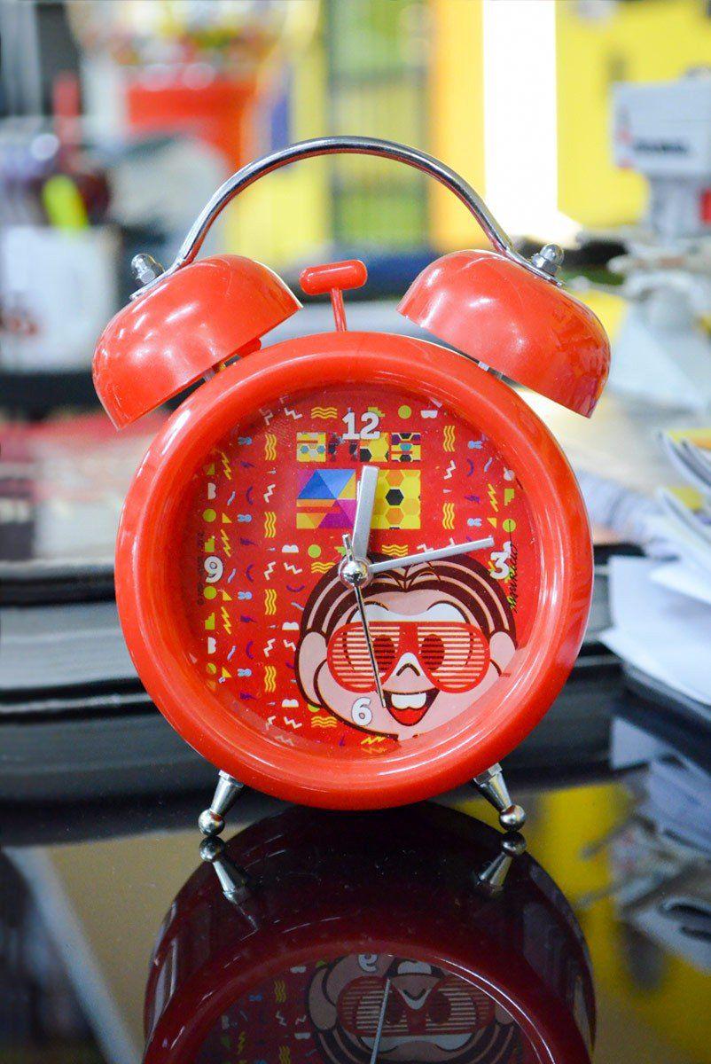 Despertador Turma da Mônica 50 Anos - Anos 90