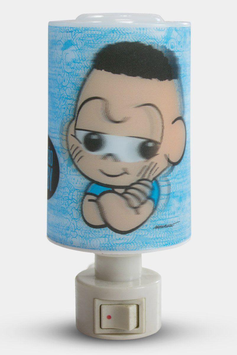Luminária de Tomada Turma da Mônica Cascão Baby Modelo 2