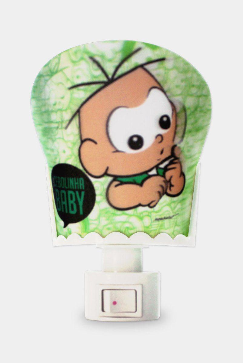 Luminária de Tomada Turma da Mônica Cebolinha Baby