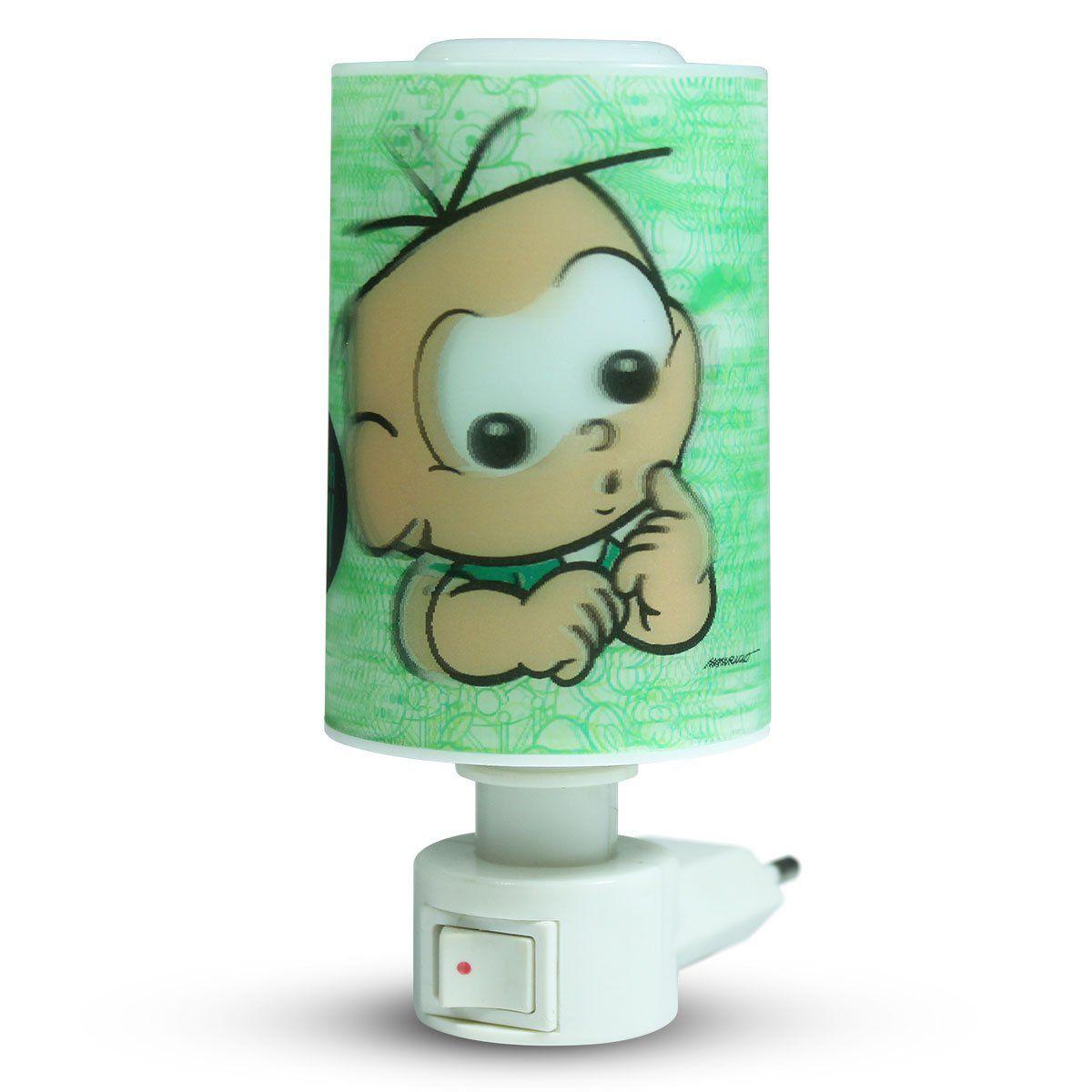 Luminária de Tomada Turma da Mônica Cebolinha Baby Modelo 2