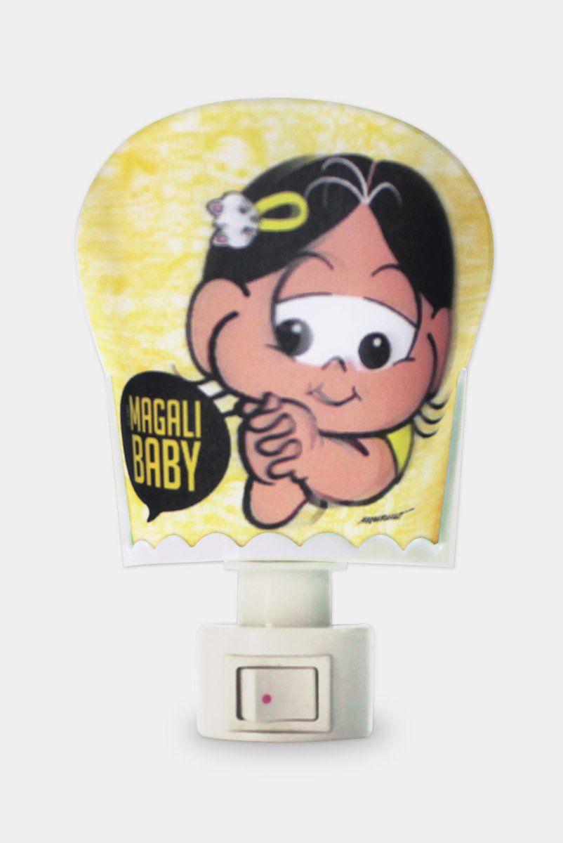 Luminária de Tomada Turma da Mônica Magali Baby