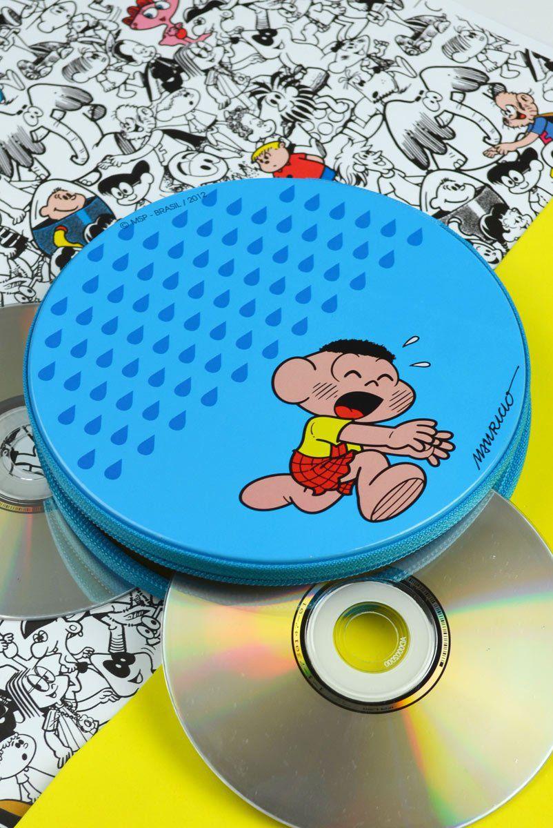 Porta CD Turma da Mônica - Cascão Chuva Não