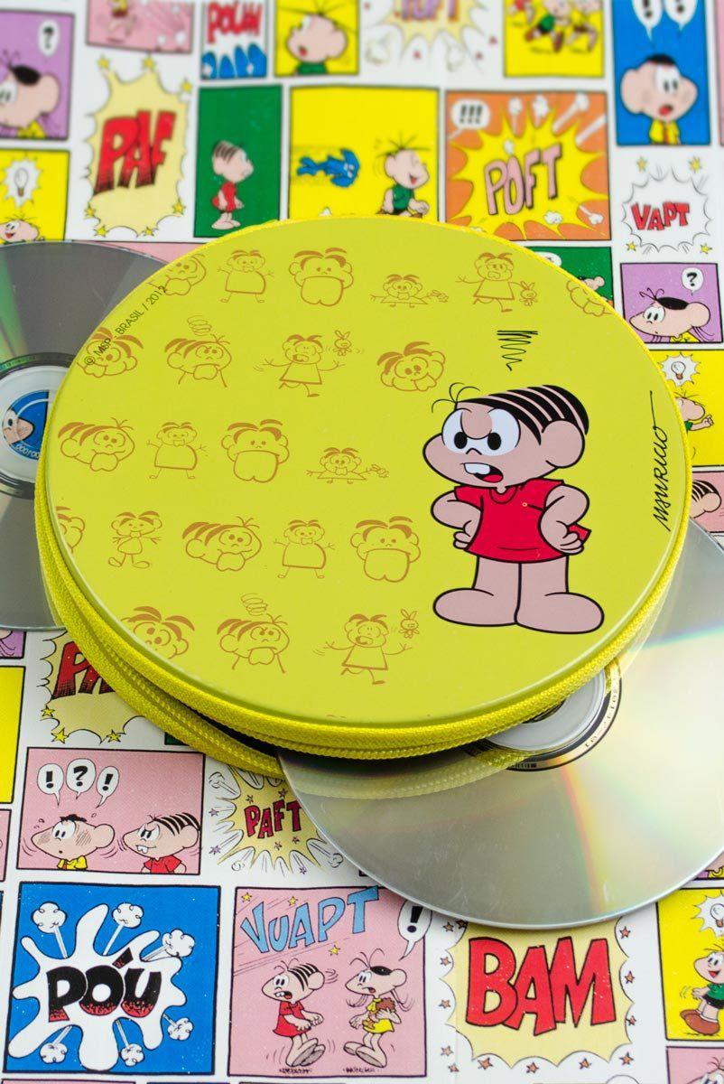 Porta CD Turma da Mônica - Mônica Dentuça