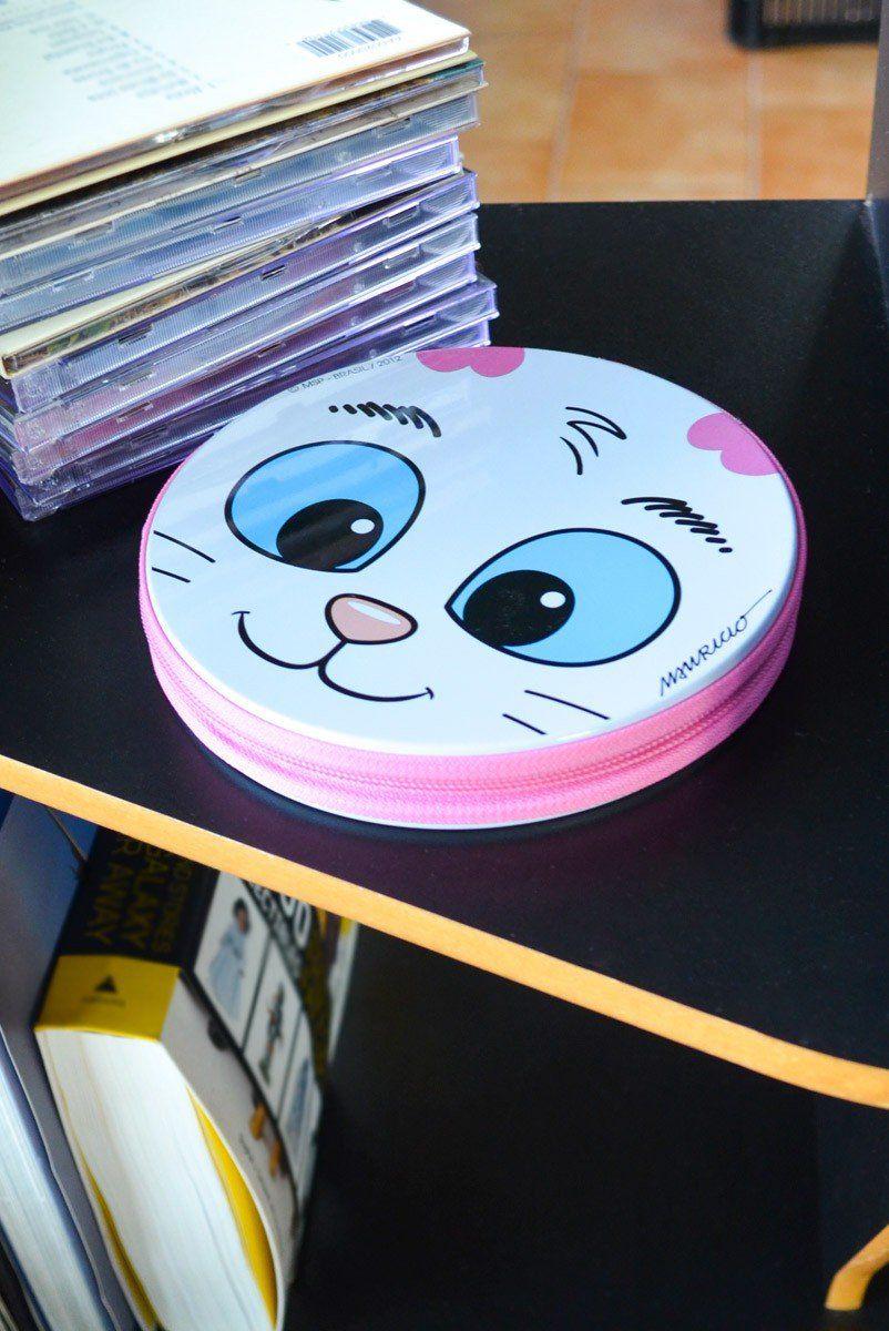 Porta CD Turma da Mônica Olhões Mingau