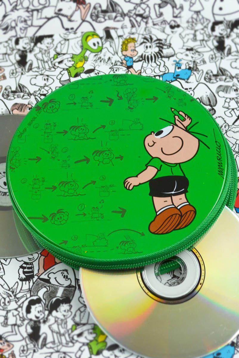 Porta CD Turma da Mônica - Plano do Cebolinha