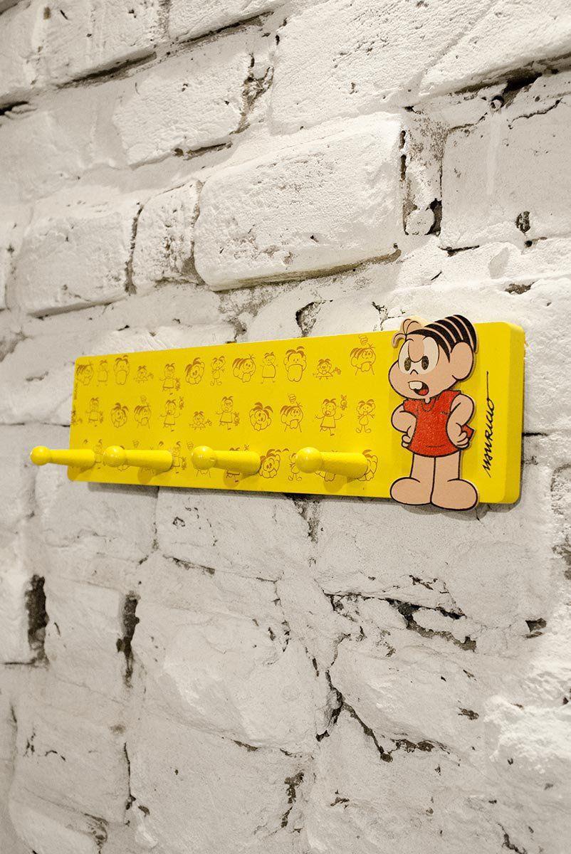 Porta-chaves Turma da Mônica Yellow Mônica