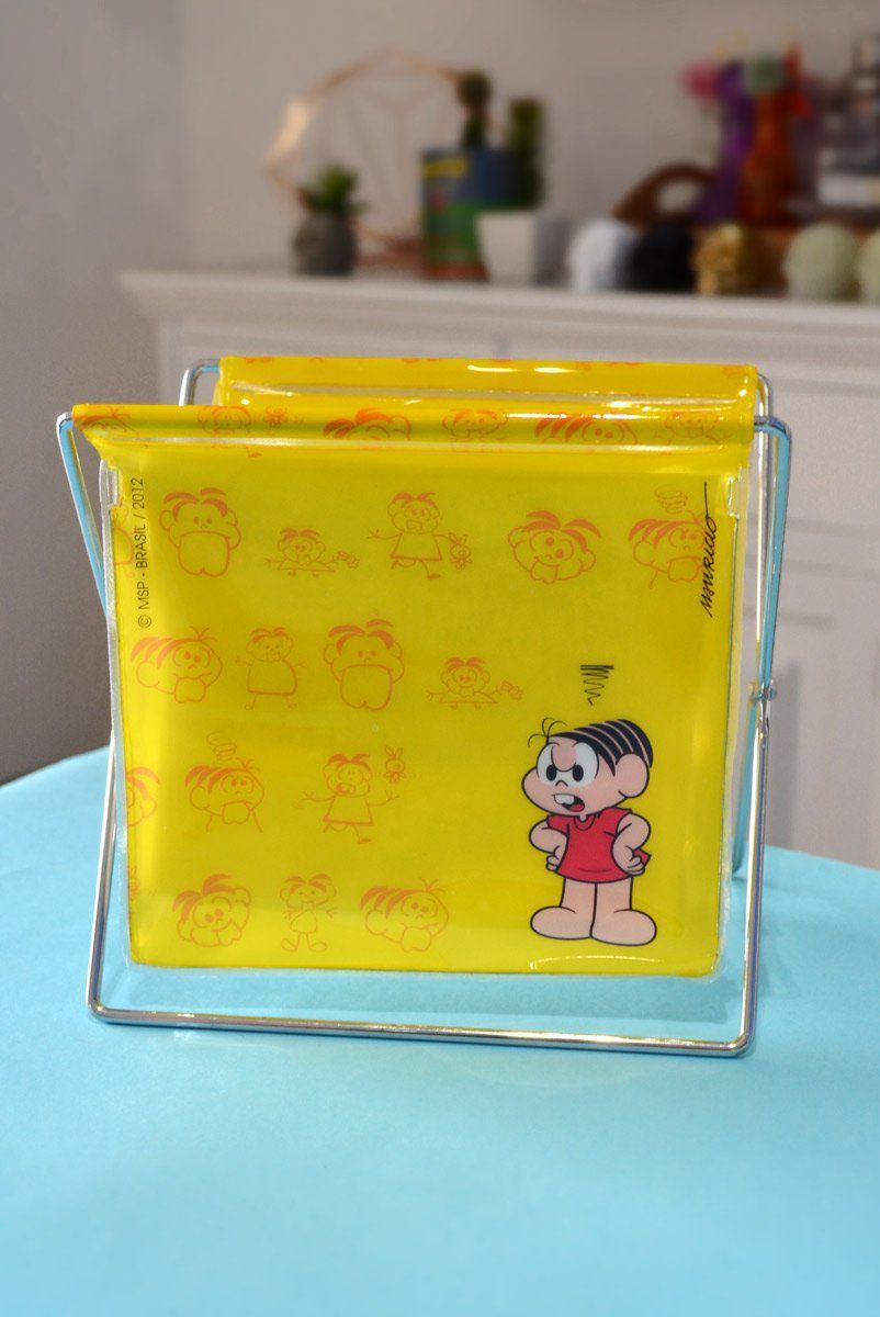 Porta-Treco Pequeno Turma da Mônica Yellow Mônica