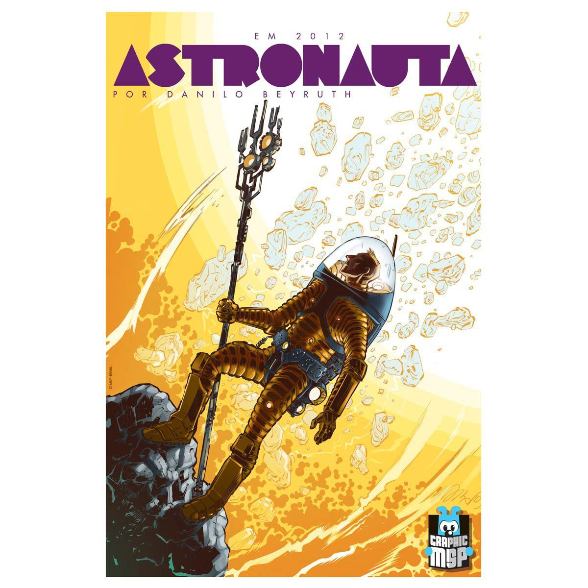 Poster Turma da Mônica Astronauta