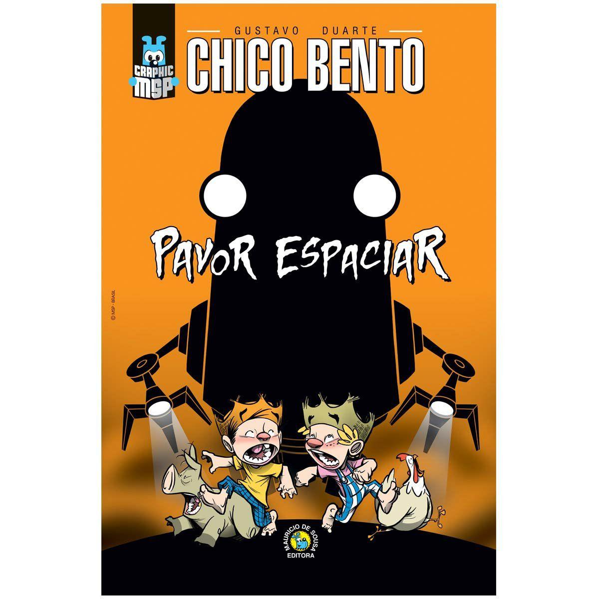 Poster Turma da Mônica Chico Bento Pavor Espaciar